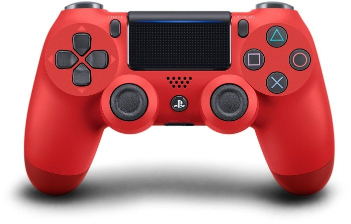 Sony DualShock 4 2.0 Controller wireless, magma red (PS4)