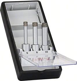 Bosch Robust Line Diamanttrockenbohrer-Set, 3-tlg. (2608587145)