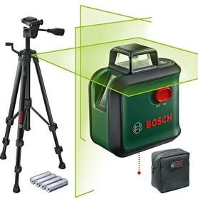 Bosch DIY AdvancedLevel 360 Set Kreuzlaser inkl. Tasche + Zubehör (0603663B04)