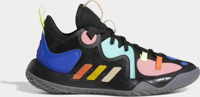 adidas Harden Step Back 2.0 core black/yellow/acid mint (Junior) (FZ1546)