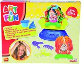 Simba Toys Art & Fun Dough Set Hairstudio (106329730)