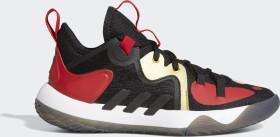 adidas Harden Step Back 2.0 core black/gold metallic/scarlet (Junior) (FZ1549)