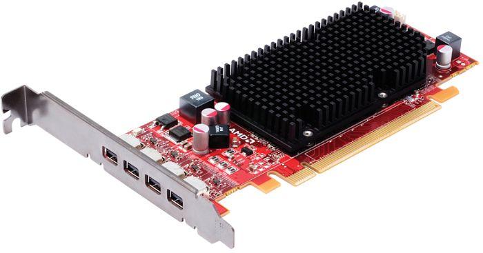 ATI FirePro 2460 passive, 512MB DDR3, 4x mini DisplayPort (100-505610/100-505969/31004-09-40R)