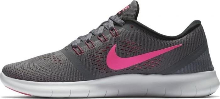 Nike Free RN dark grey/pink blast/black/cool grey (Damen) (831509-006) ab € 99,10