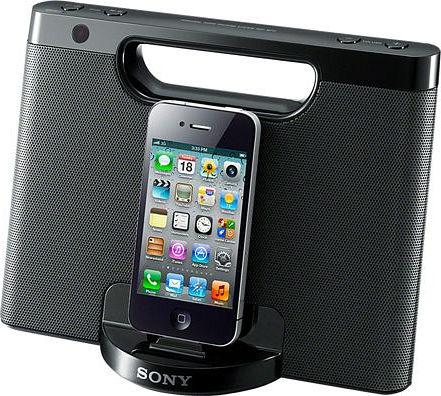 Sony RDP-M7iPB schwarz