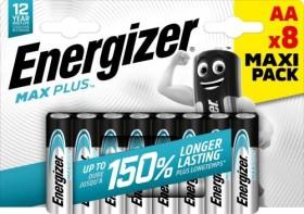 Energizer Max Plus Mignon AA, 8-pack (E301324600)