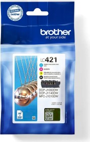 Brother ink LC421VAL value pack