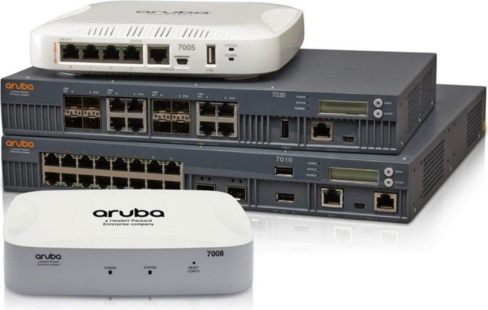 Aruba Mobility Controller 7030, Wireless Controller 8-port (7030-RW/JW686A)