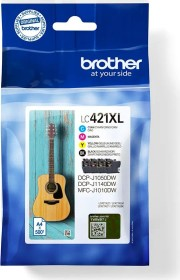 Brother ink LC421XLVAL value pack