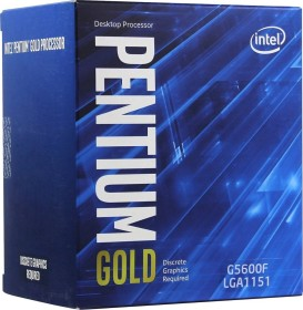 Intel Pentium Gold G5600F, 2x 3.90GHz, boxed (BX80684G5600F)