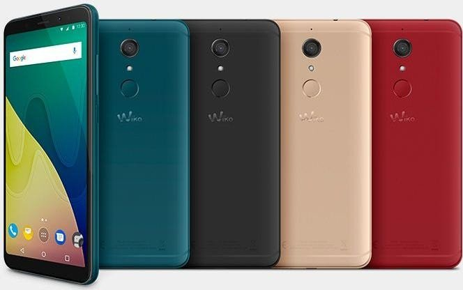 Wiko View XL rot