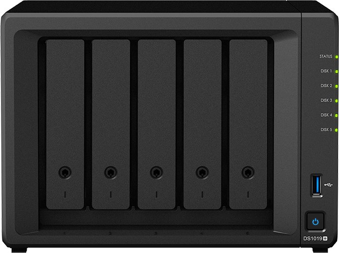 Synology DiskStation DS1019+, 8GB RAM, 2x Gb LAN ab € 681,25