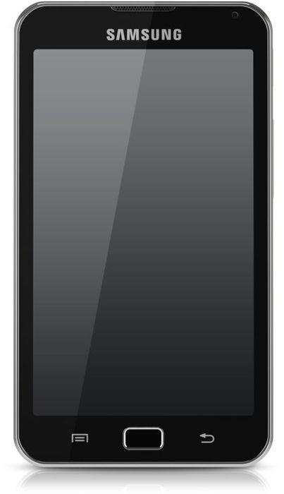 Samsung Galaxy S Wi-Fi 5.0 8GB weiß (YP-G70CW)