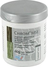 Chrom III mse Tabletten, 120 Stück