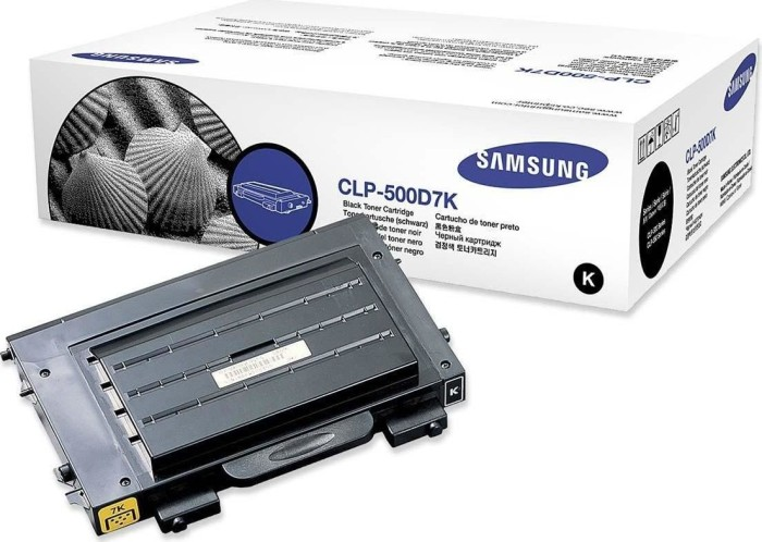 Samsung CLP-500D7K Toner black -- via Amazon Partnerprogramm