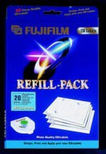 Fujifilm CD-Labeling Refill Jet-colour Pro, 20 pieces (42337)