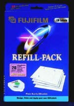 Fujifilm CD-Labeling Refill Jet-Gloss, 20 pieces