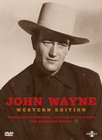 John Wayne Western Edition II (Schwarzes Kommando/Blut am Fargo River/...) (DVD)