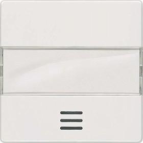 Siemens DELTA i-system Wippe mit Fenster, mit Schild, titanweiß (5TG6211)