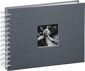 Hama spiral album Fine Art 24x17/50 white pages grey (2111)