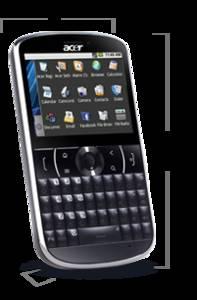 Acer beTouch E130 white