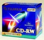 Fujifilm CD-RW 74min/650MB, sztuk 10