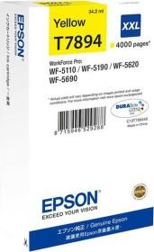 Epson Tinte 78XXL gelb (C13T78944010)