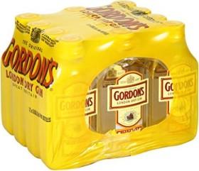 Gordon's Dry 37.5%vol 50ml