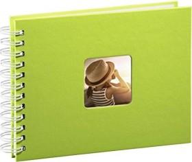 Hama spiral album Fine Art 24x17/50 white pages green (2114)