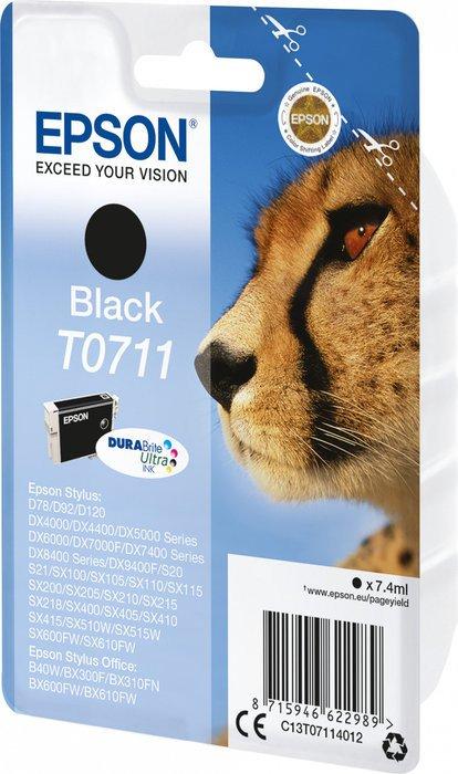 Epson T0711 Tinte schwarz (C13T07114012)
