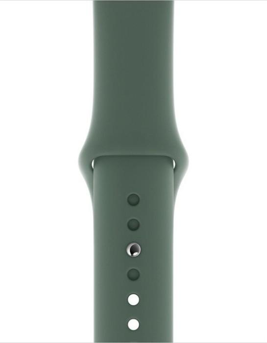 Apple Sportarmband S/M und M/L für Apple Watch 40mm piniengrün (MWUR2ZM/A)