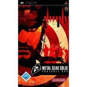 Metal Gear Solid - portable Ops (English) (PSP)