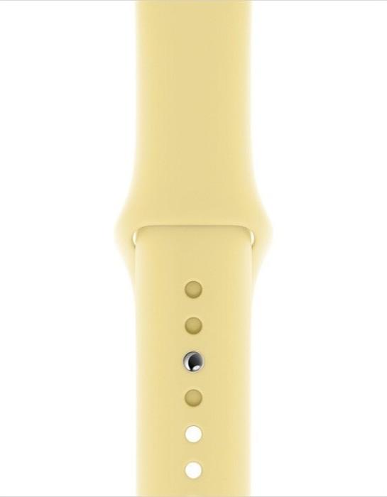 Apple Sportarmband S/M und M/L für Apple Watch 40mm zitruscreme (MWUU2ZM/A)