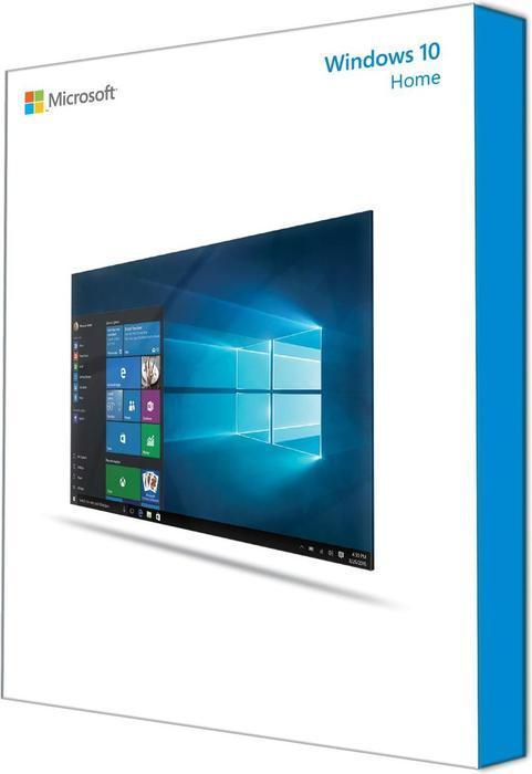 Microsoft: Windows 10 Home 32Bit/64Bit, DSP/SB, ESD (deutsch) (PC)