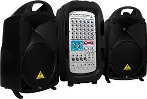 Behringer Europort EPA900 mobile PA system -- © Copyright 200x, Behringer International GmbH