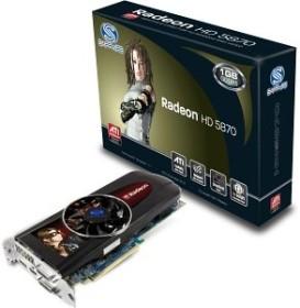 Sapphire Radeon HD 5870 (Rev 2.0), 1GB GDDR5, 2x DVI, HDMI, DP, full retail (11161-01-40R/11161-01-50R)