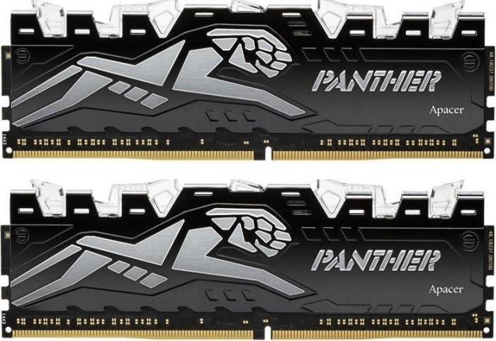 Apacer Panther Rage Illumination DIMM Kit 16GB, DDR4-2400, CL16-16-16-36 (EK.16GAT.GEJK2)
