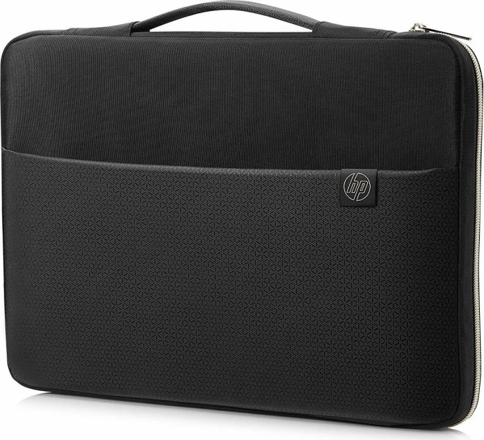 "HP 14"" Carry sleeve notebook cover, black/gold (3XD33AA#ABB)"
