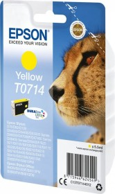Epson ink T0714 yellow (C13T07144010)