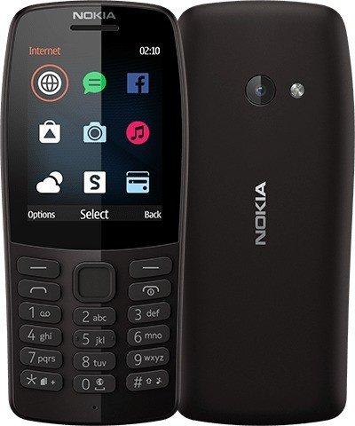 Nokia 210 Dual-SIM schwarz
