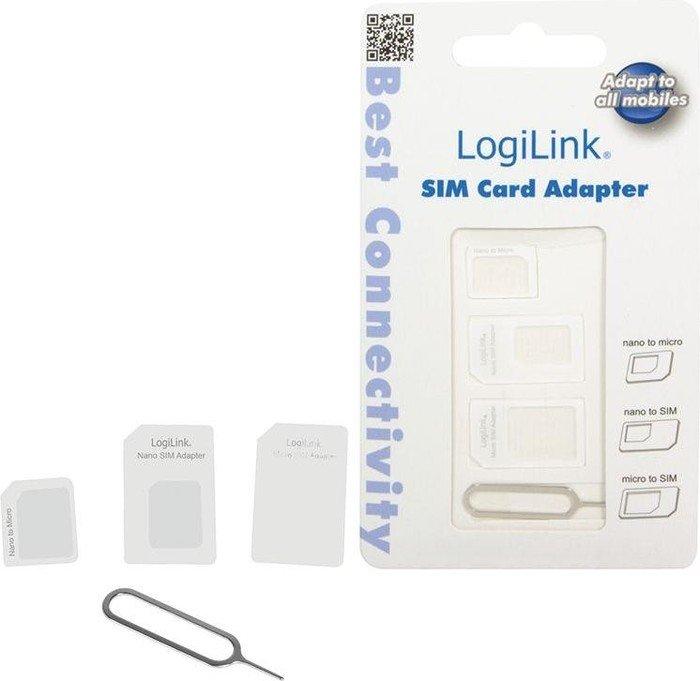 LogiLink SIM-Adapterset (AA0047)