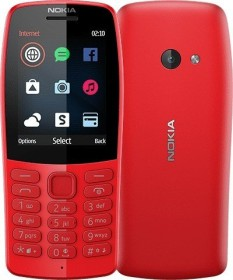 Nokia 210 Dual-SIM rot