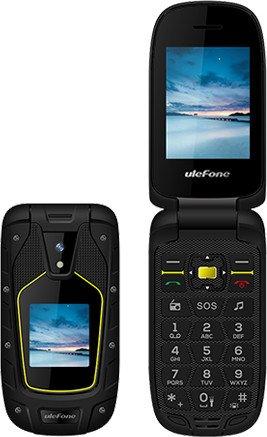 Ulefone Armor Flip schwarz/gelb