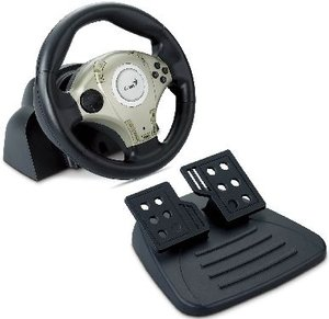 Genius Twin Wheel F1, USB (PC/PS2) (31620029100)