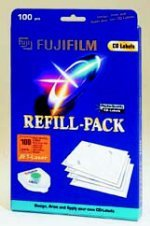Fujifilm CD-Labeling Refill Jet-laser, 100 pieces