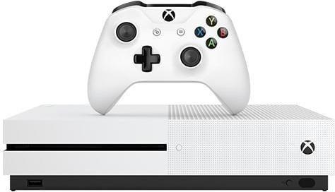 Microsoft Xbox One S - 500GB FIFA 17 Bundle weiß