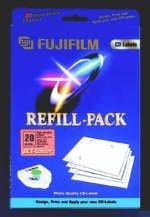 Fujifilm CD-Labeling Refill Jet-Laser, 20 Stück (42216)