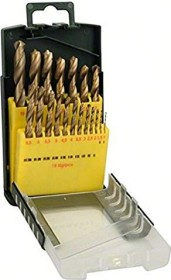 Bosch HSS-TiN drills set, 19-piece. (2607017152)