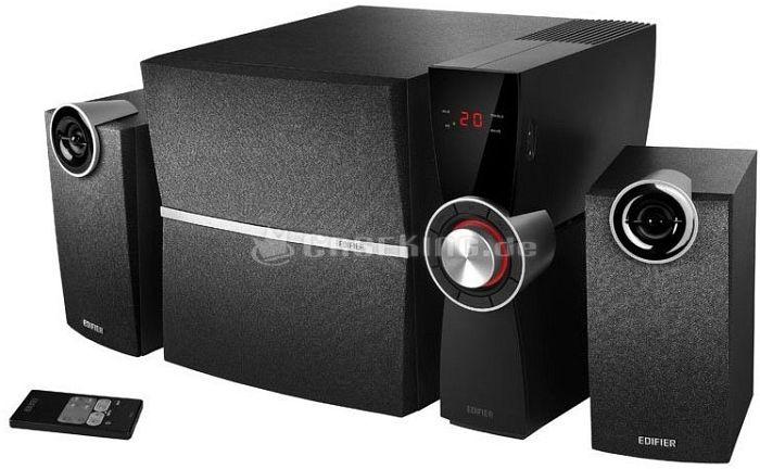 Edifier C2XD 2.1 System schwarz