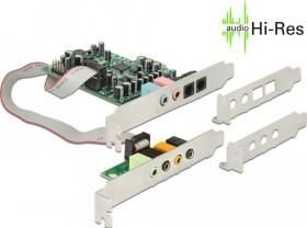 DeLOCK sound card 7.1, PCIe x1 (89640)